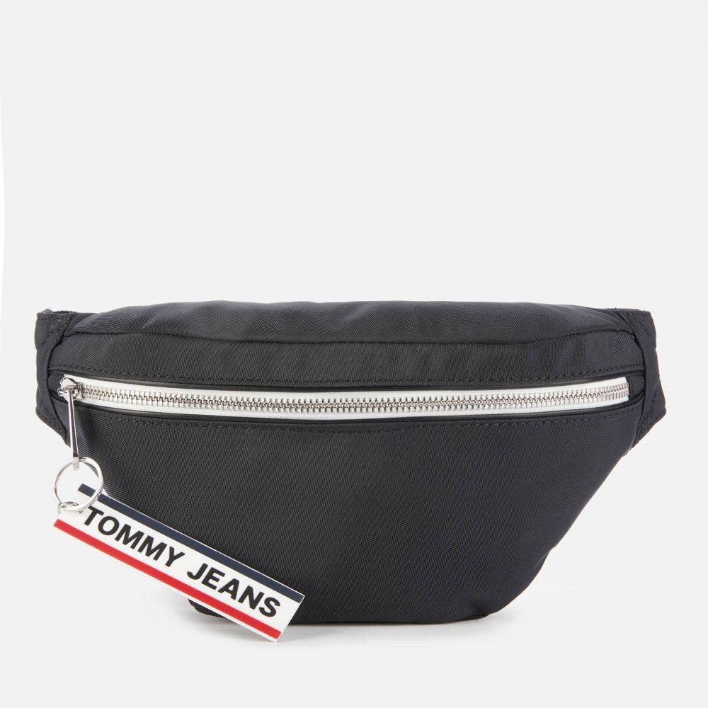トミー ジーンズ Tommy Jeans メンズ ボディバッグ・ウエストポーチ バッグ【Logo Tape Bumbag】Black