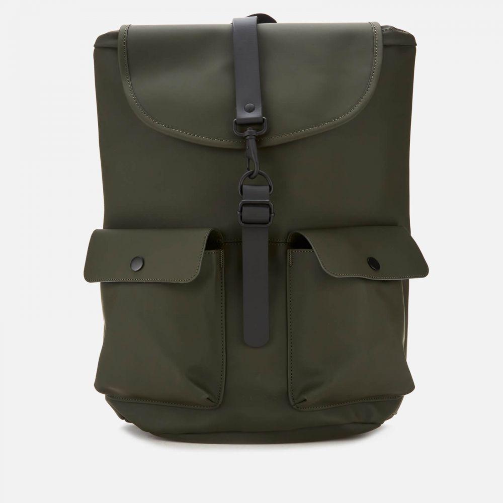 レインズ 訳あり品送料無料 メンズ バッグ バックパック リュック サイズ交換無料 Camp Green RAINS チープ - Backpack