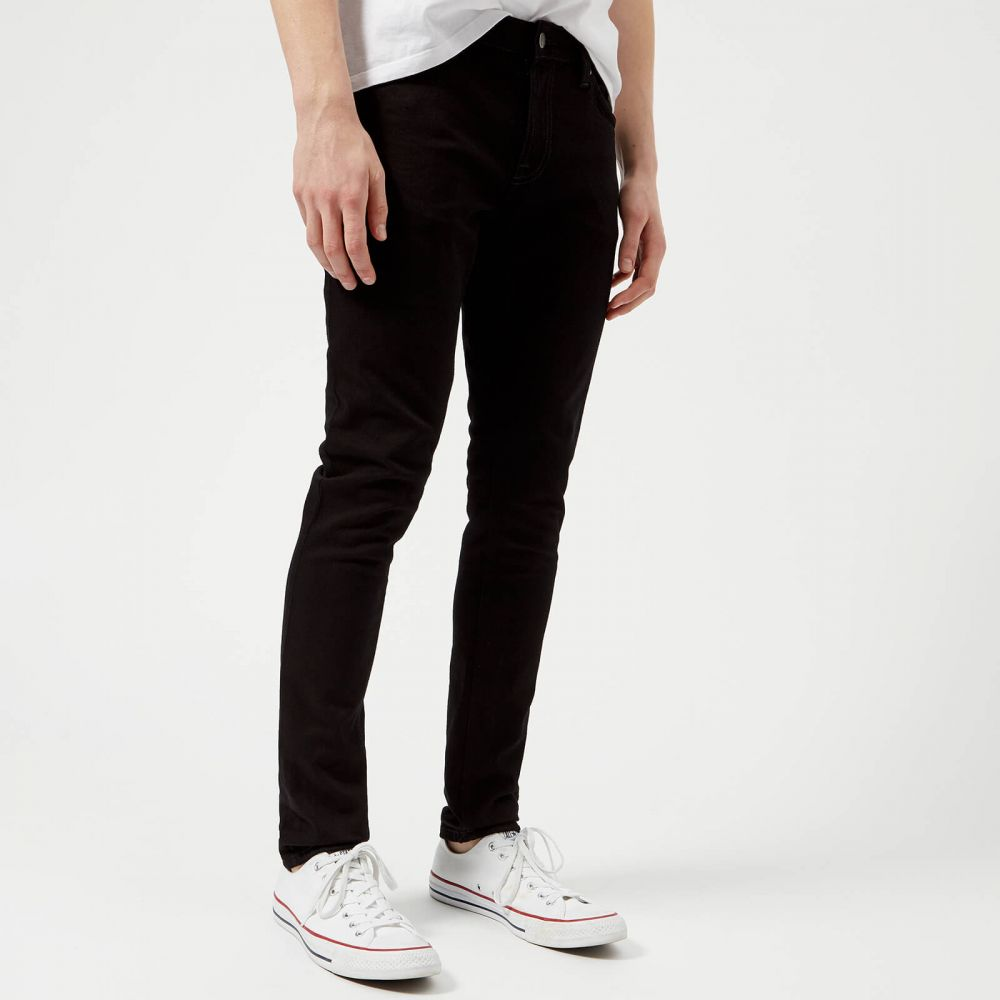 ヌーディージーンズ Nudie Jeans メンズ ジーンズ・デニム ボトムス・パンツ【skinny lin skinny jeans - black black】Black