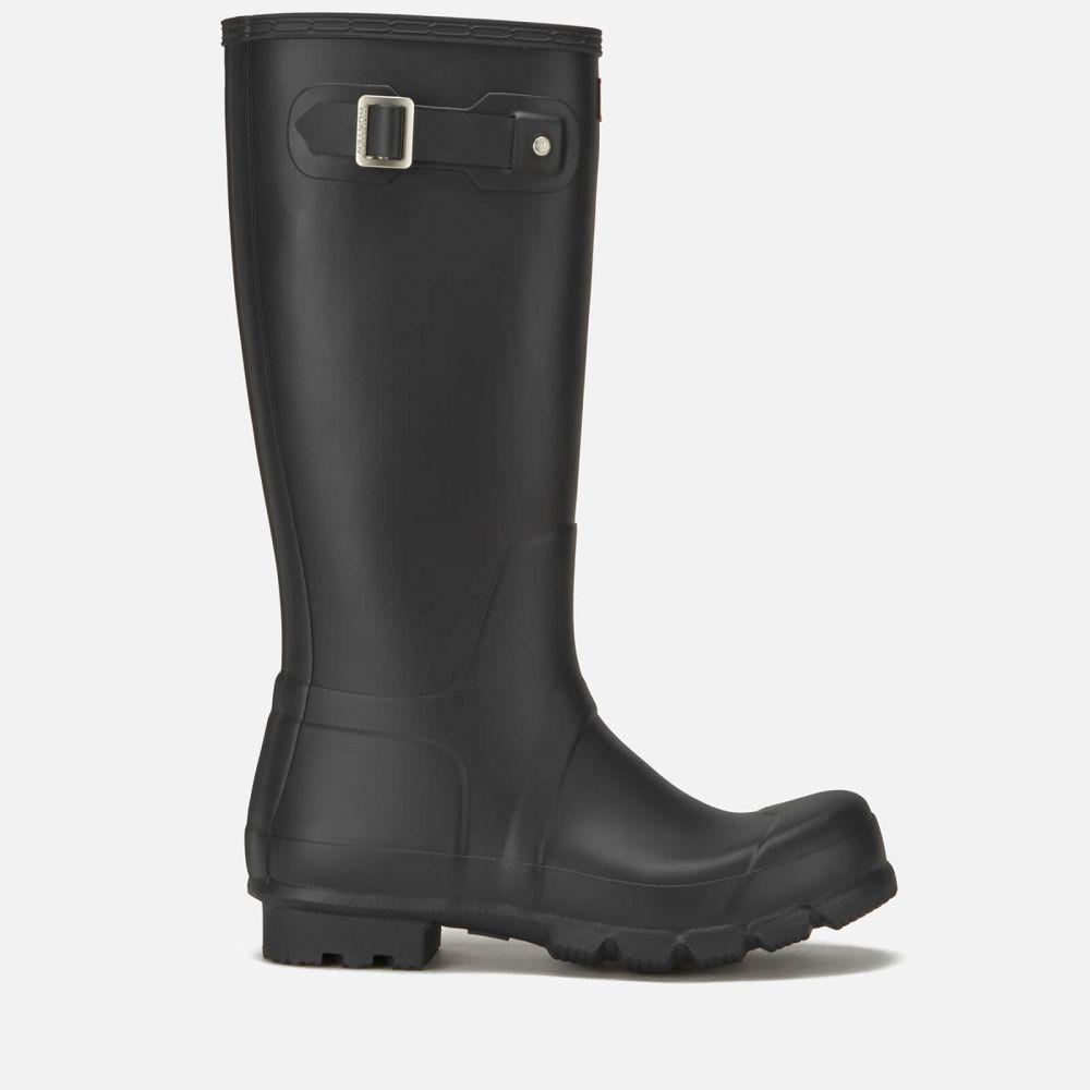 ハンター Hunter メンズ レインシューズ・長靴 シューズ・靴【original tall wellies - black】Black