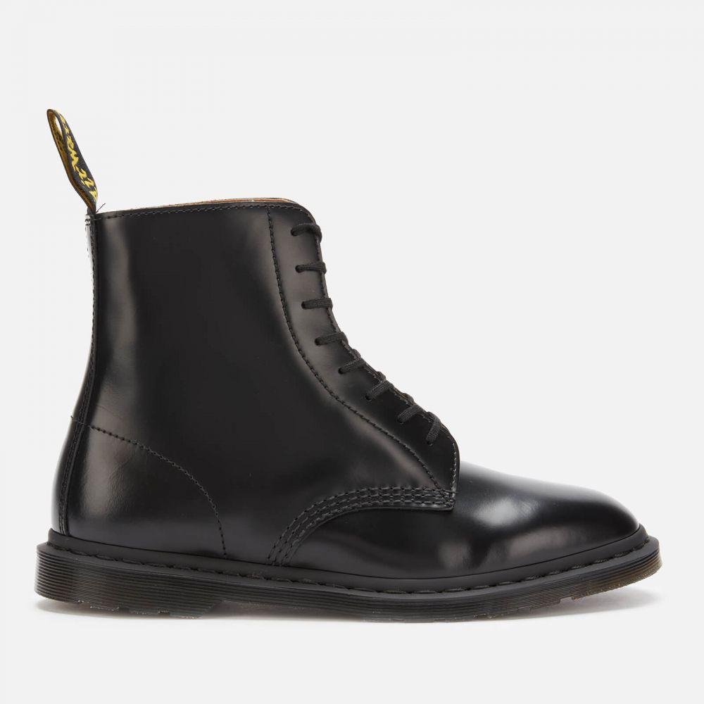 ドクターマーチン Dr. Martens メンズ ブーツ レースアップブーツ シューズ・靴【winchester ii polished smooth leather lace up boots - black】Black