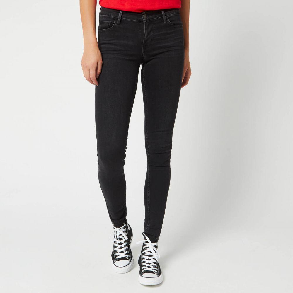 リーバイス Levi's レディース ジーンズ・デニム ボトムス・パンツ【innovation super skinny jeans - freak out】Black
