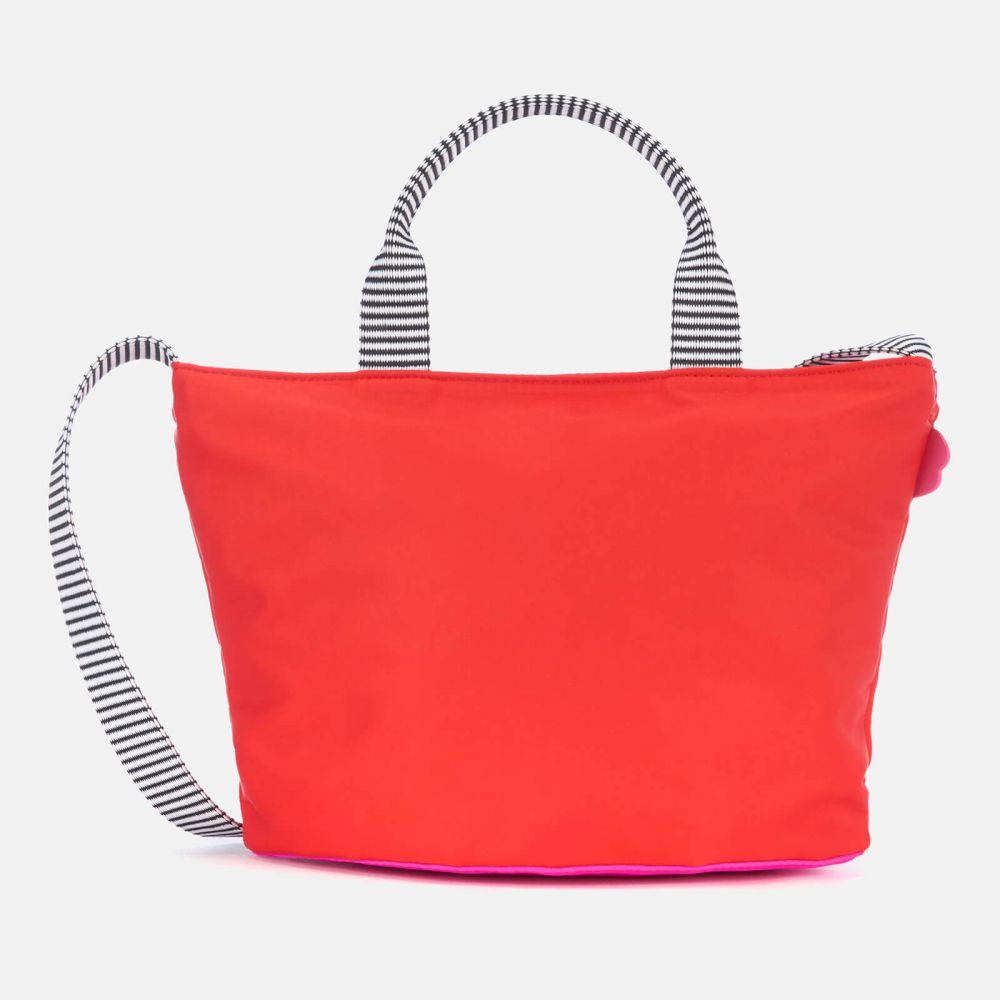 ルル ギネス Lulu Guinness レディース ショルダーバッグ バッグ【small lip base lola cross body bag - red/hot pink】Red/Pink