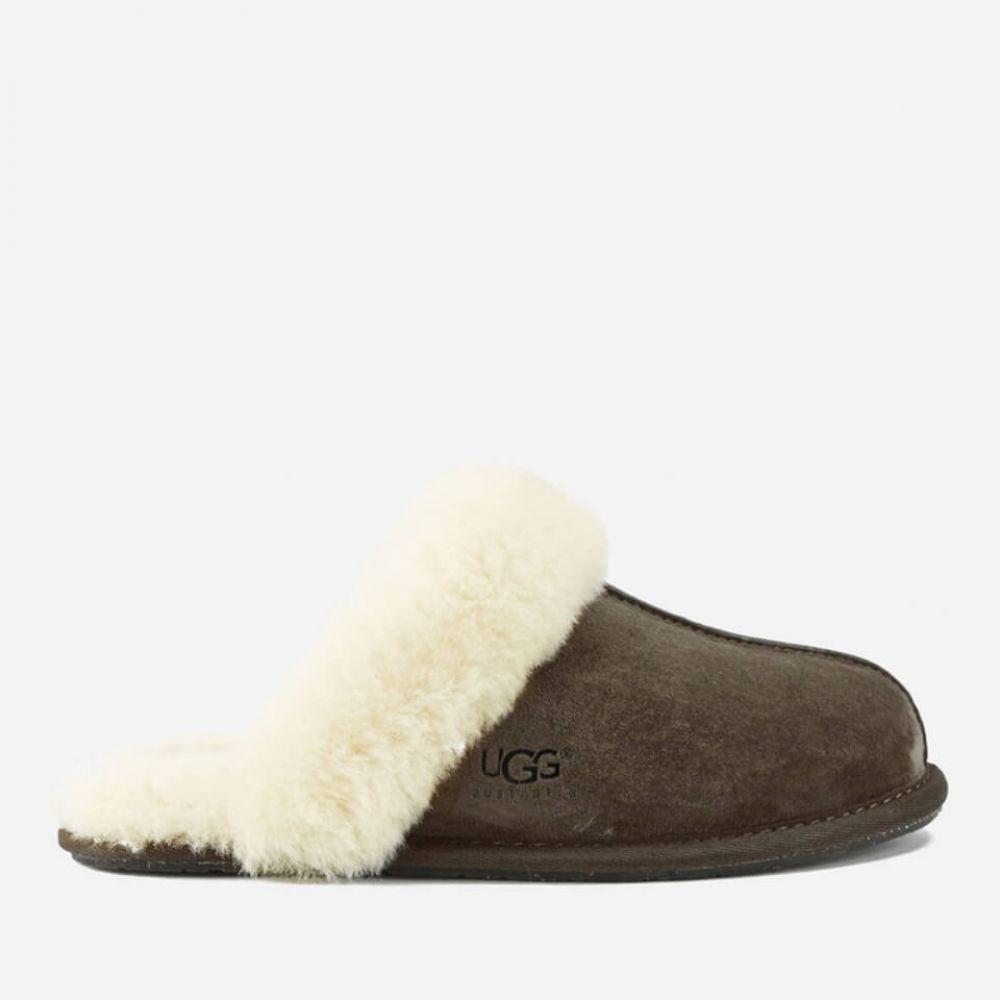 アグ UGG レディース スリッパ シューズ・靴【scuffette ii sheepskin slippers - espresso】Espresso