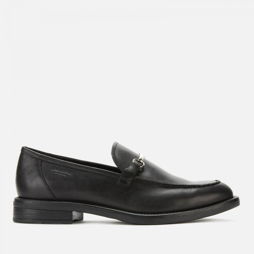 バガボンド Vagabond レディース ローファー・オックスフォード シューズ・靴【amina leather loafers - black】Black