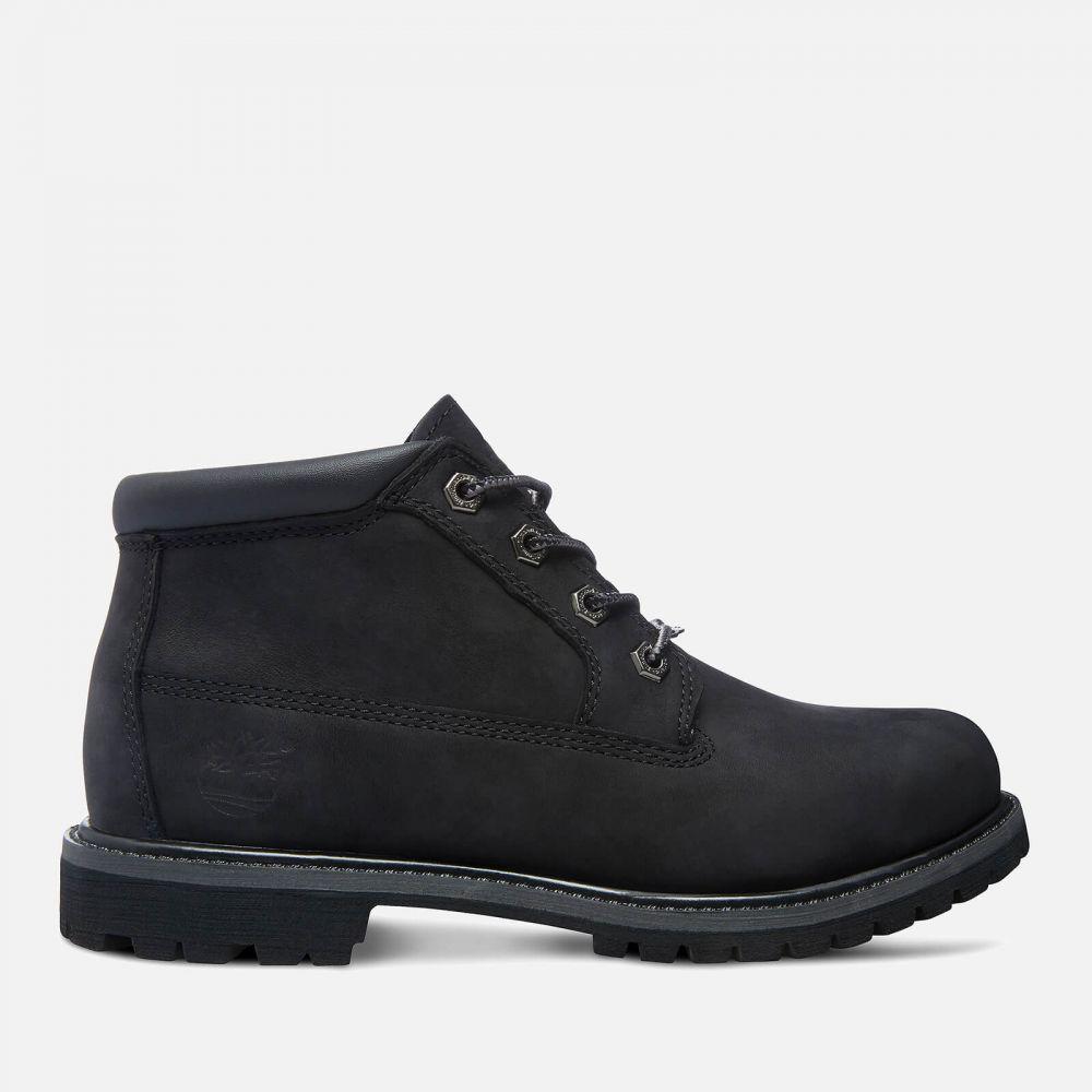 ティンバーランド Timberland レディース ブーツ チャッカブーツ シューズ・靴【nellie double leather chukka boots - black】Black