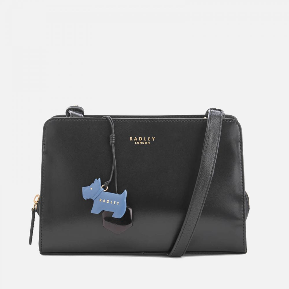 ラドリー Radley レディース ショルダーバッグ バッグ【liverpool street medium zip top cross body bag - black】Black