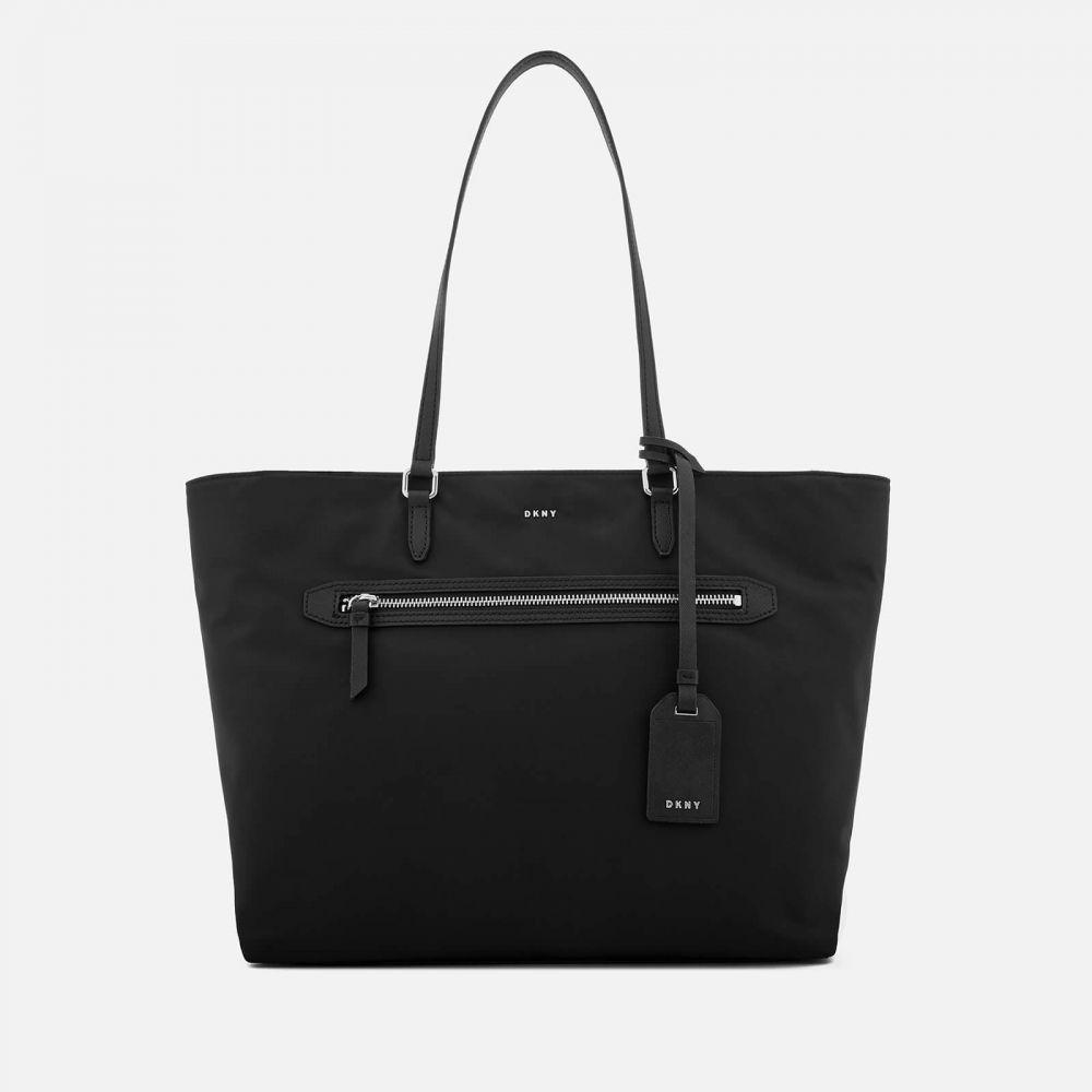 ダナ キャラン ニューヨーク DKNY レディース トートバッグ バッグ【casey large tote bag - black/silver】Black