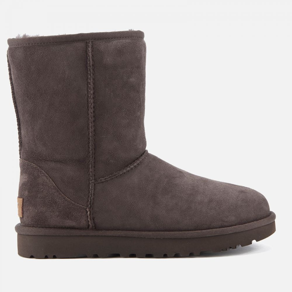 アグ UGG レディース ブーツ シューズ・靴【classic short ii sheepskin boots - chocolate】Brown