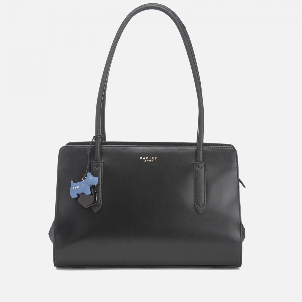 ラドリー Radley レディース ショルダーバッグ バッグ【liverpool street medium ew tote bag shoulder zip top bag - black】Black