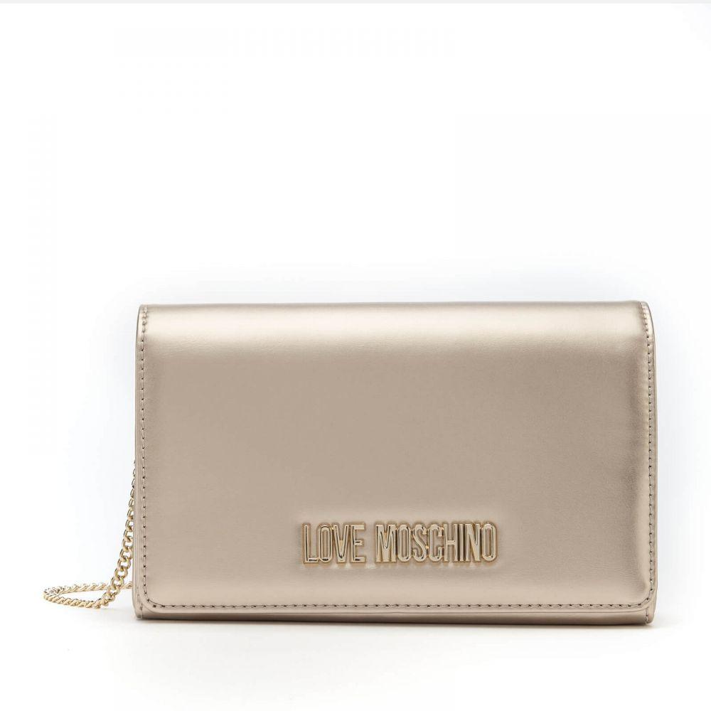 モスキーノ Love Moschino レディース ショルダーバッグ バッグ【logo small shoulder bag - gold】Gold