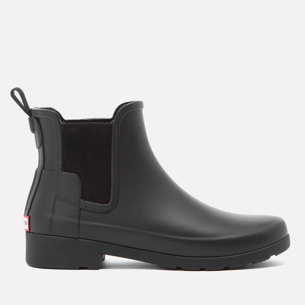 ハンター Hunter レディース ブーツ チェルシーブーツ シューズ・靴【original refined chelsea boots - black】Black
