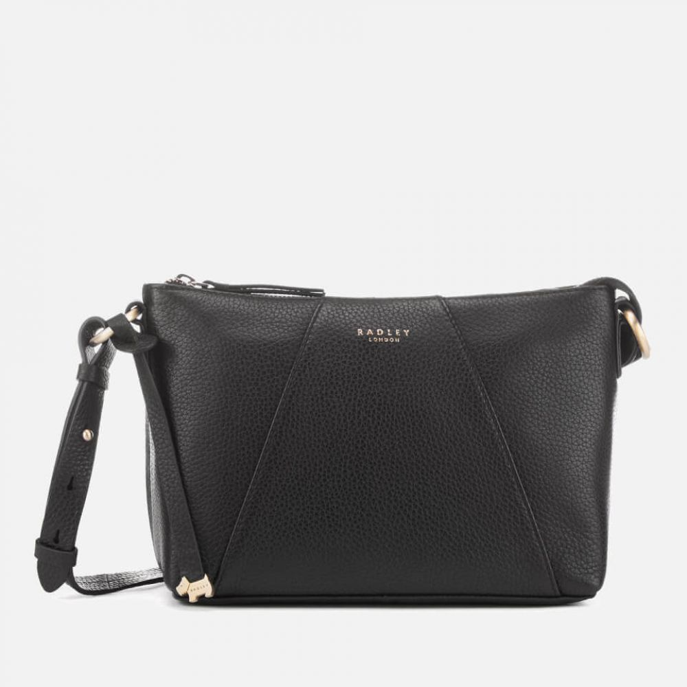 ラドリー Radley レディース ショルダーバッグ バッグ【wood street medium zip top cross body bag - black】Black
