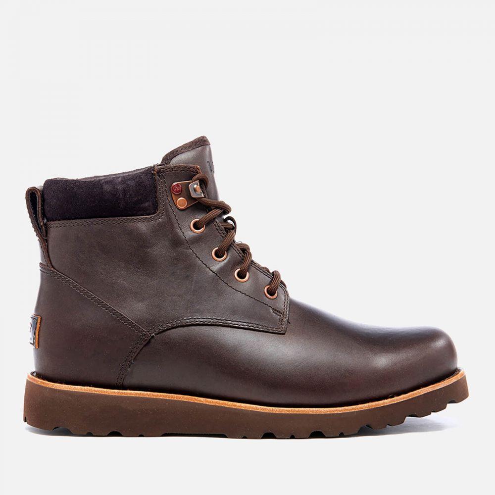 アグ UGG メンズ ブーツ レースアップブーツ シューズ・靴【Seton Lace up Boots - Stout】Brown