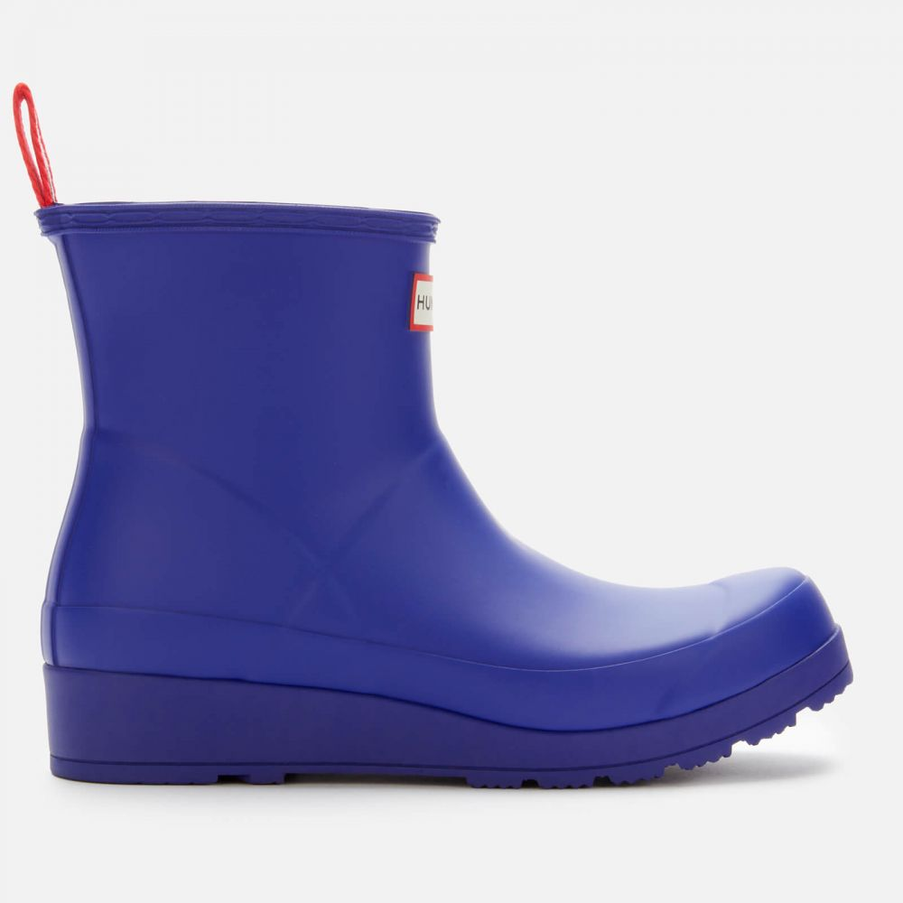 ハンター Hunter レディース ブーツ シューズ・靴【Original Play Short Boots - Electric Storm】Blue