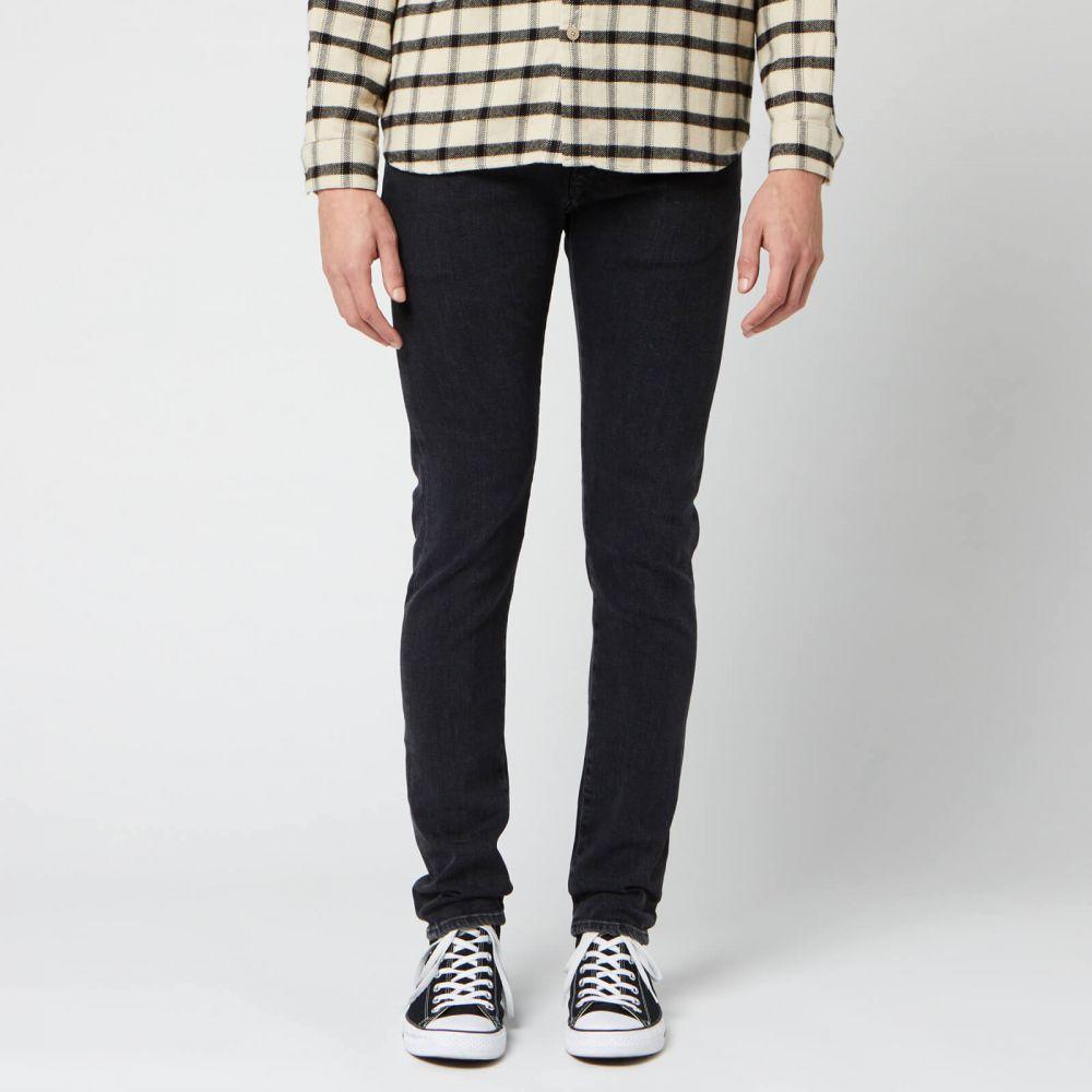 エドウィン Edwin メンズ ジーンズ・デニム ボトムス・パンツ【ED-85 Slim Tapered Drop Crotch Ayano Black Denim Jeans - Kagami Wash】Black