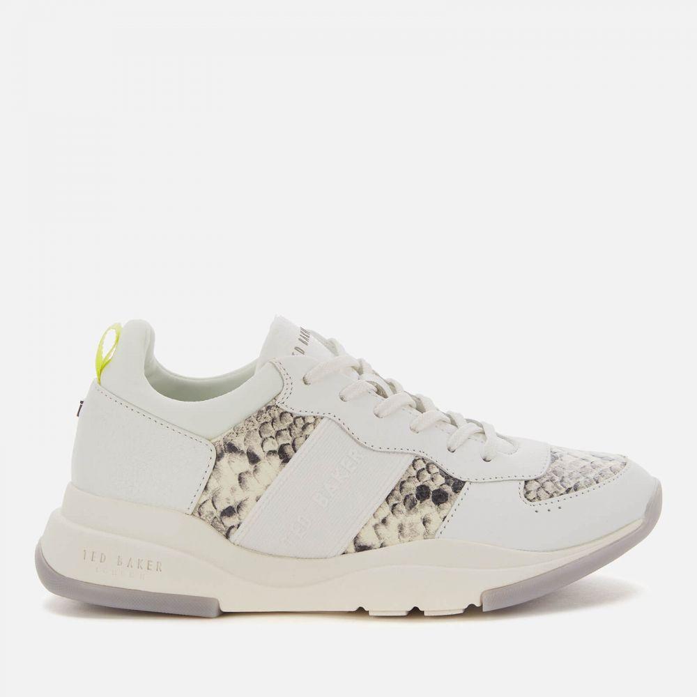 テッドベーカー Ted Baker レディース ランニング・ウォーキング シューズ・靴【Weverds Running Style Trainers - White】White