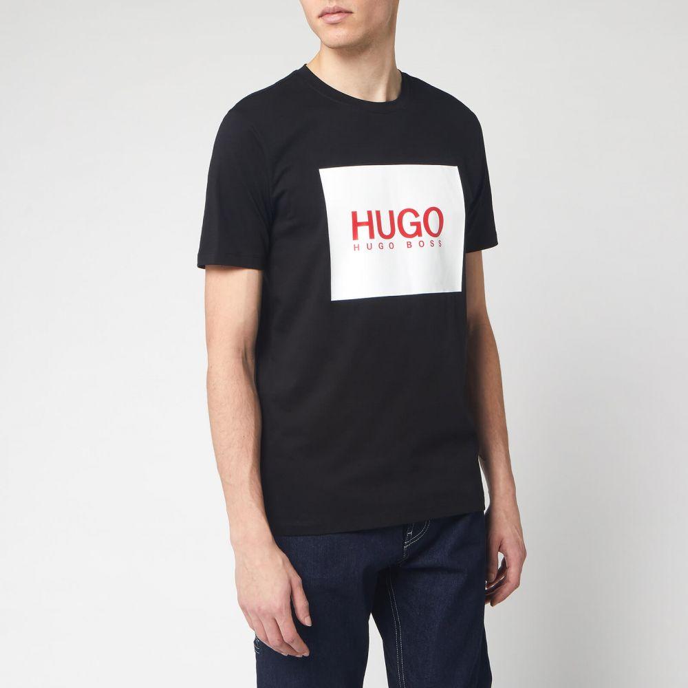 ヒューゴ ボス HUGO メンズ Tシャツ トップス【Dolive 201 T-Shirt - Black】Black