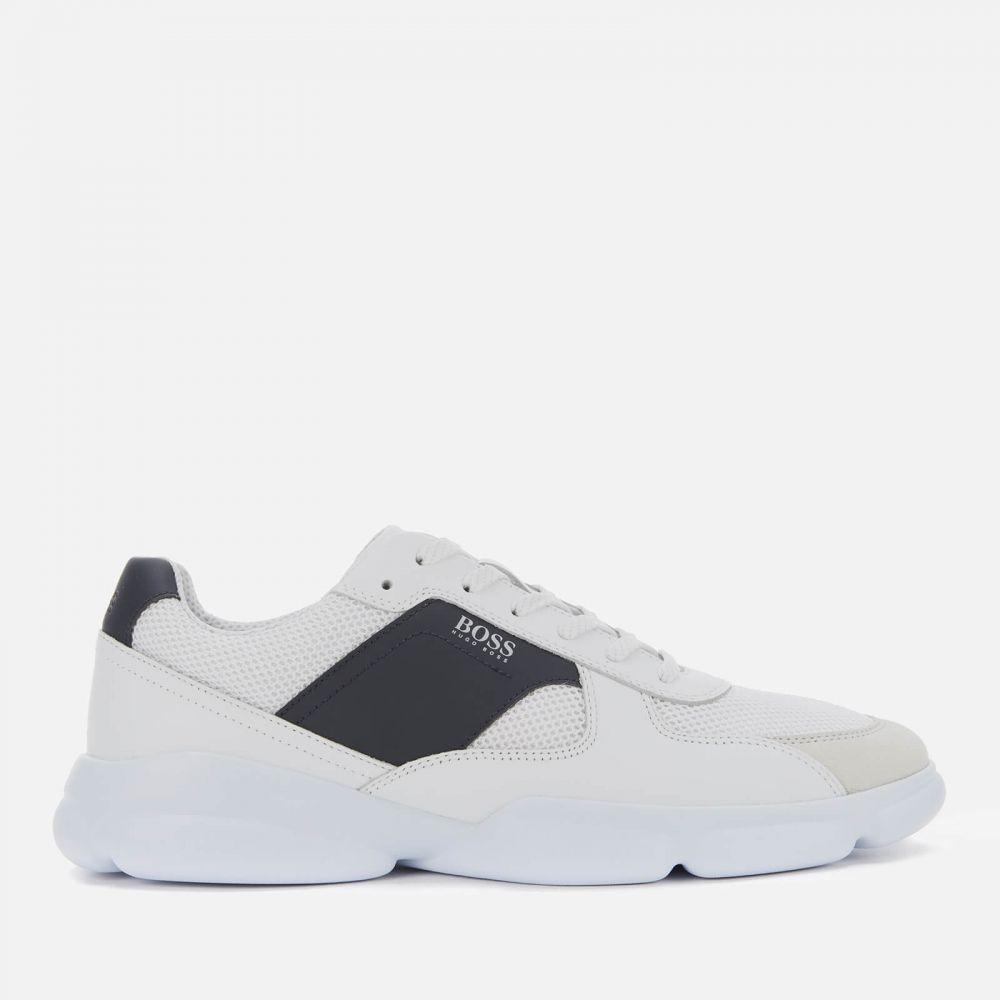 ヒューゴ ボス BOSS メンズ ランニング・ウォーキング シューズ・靴【Newlight Runn Mesh Running Style Trainers - White】White