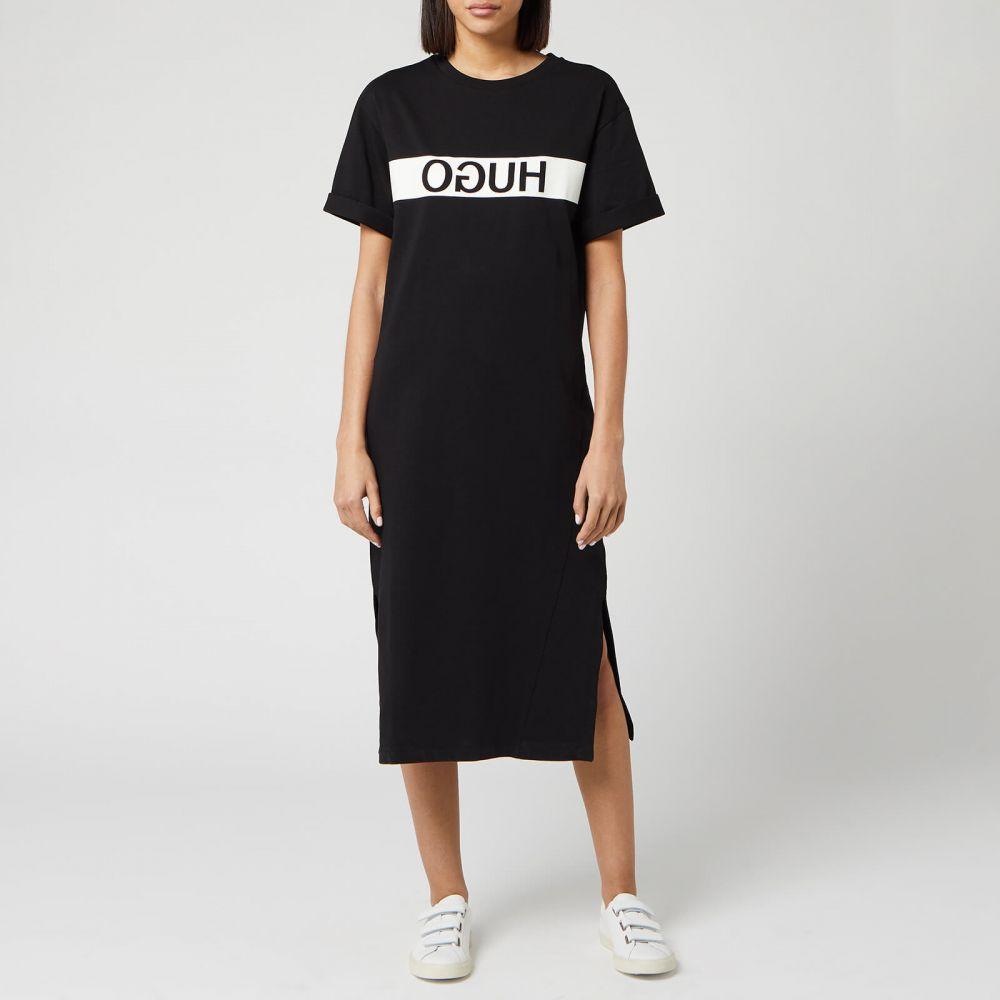 ヒューゴ ボス HUGO レディース ワンピース ワンピース・ドレス【Neyleta Dress - Black】Black