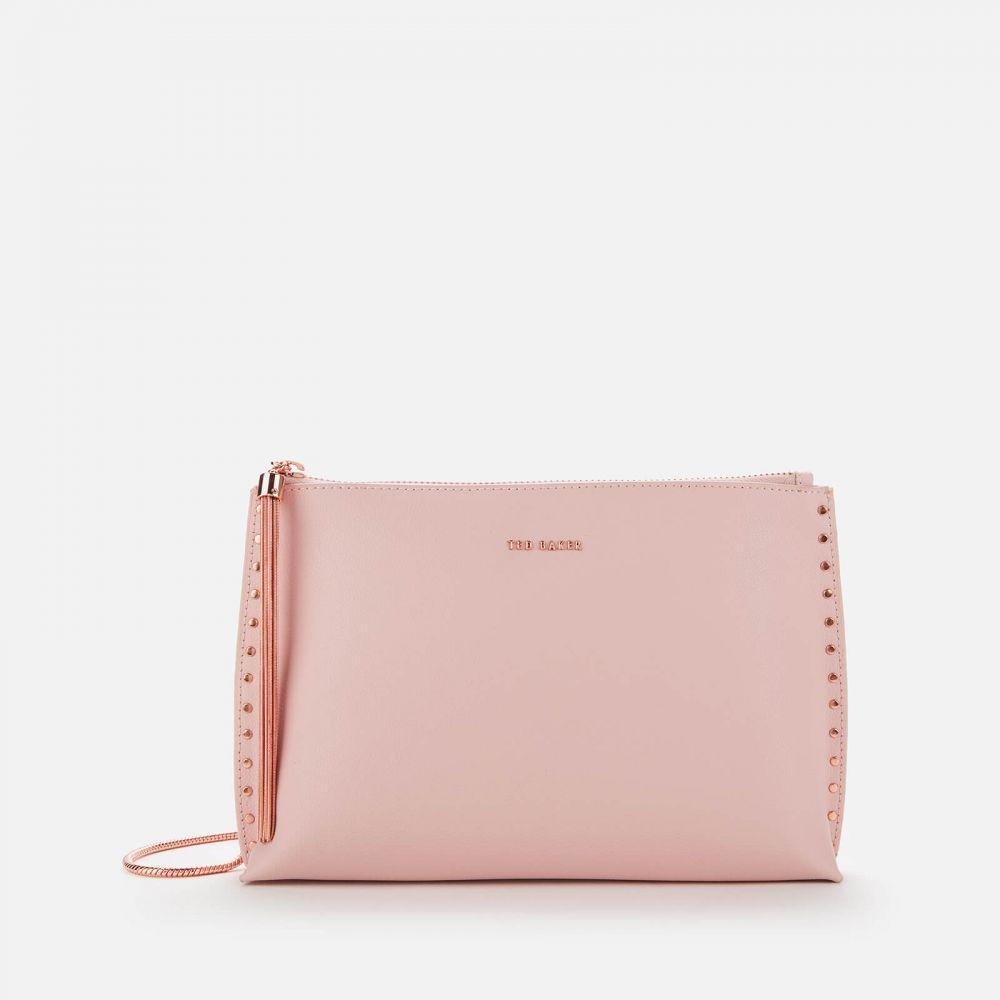 テッドベーカー Ted Baker レディース ショルダーバッグ バッグ【Tesssa Knotted Zip Cross Body Bag - Light Pink】Pink