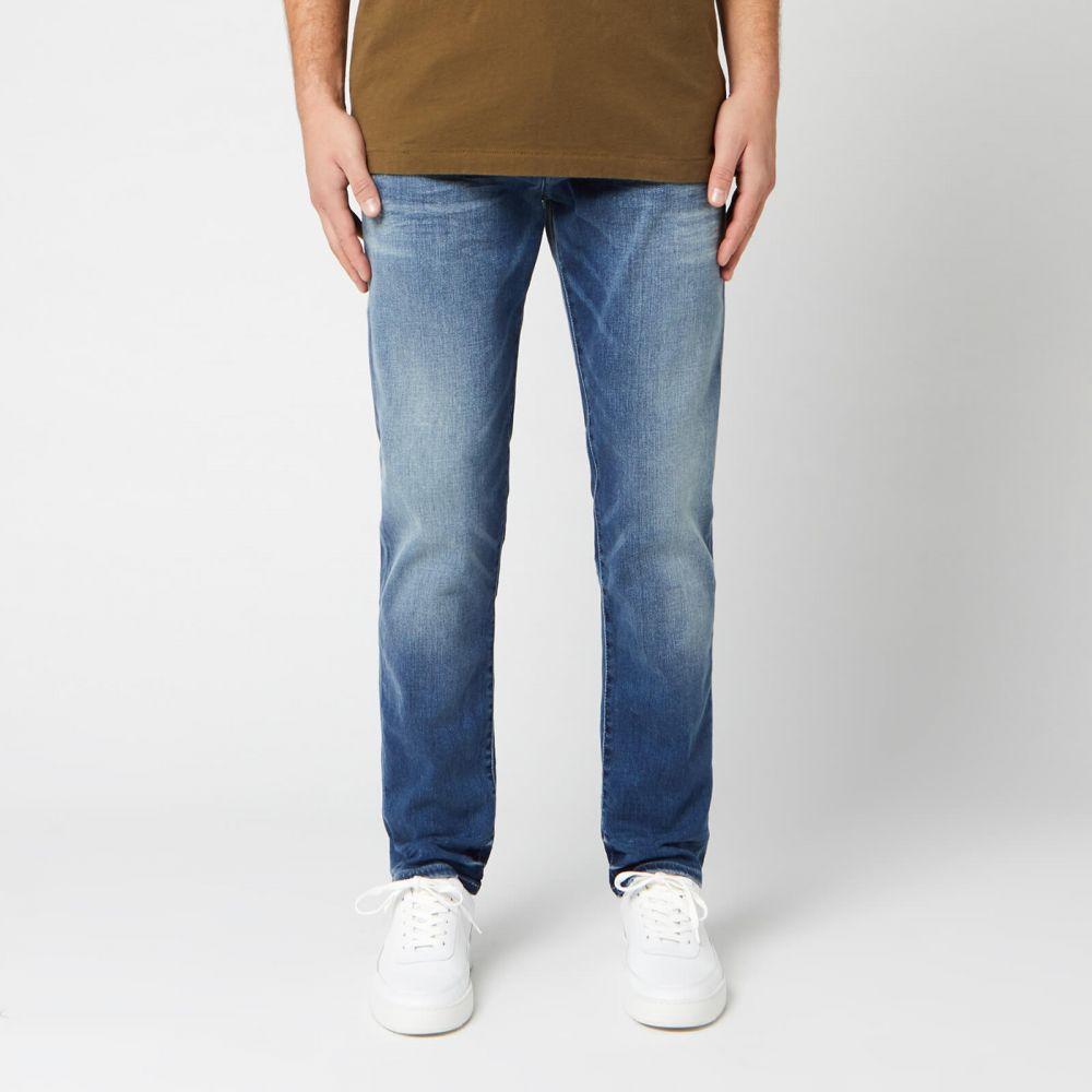 トゥルー レリジョン True Religion メンズ ジーンズ・デニム ボトムス・パンツ【Rocco Stretch Jeans - Baseline】Blue