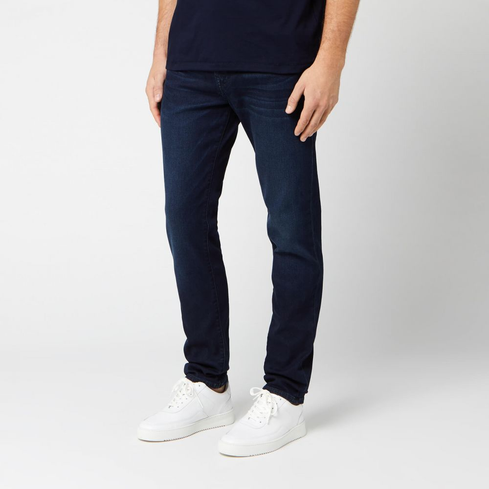 トゥルー レリジョン True Religion メンズ ジーンズ・デニム ボトムス・パンツ【Rocco Stretch Jeans - DK Passage】Blue