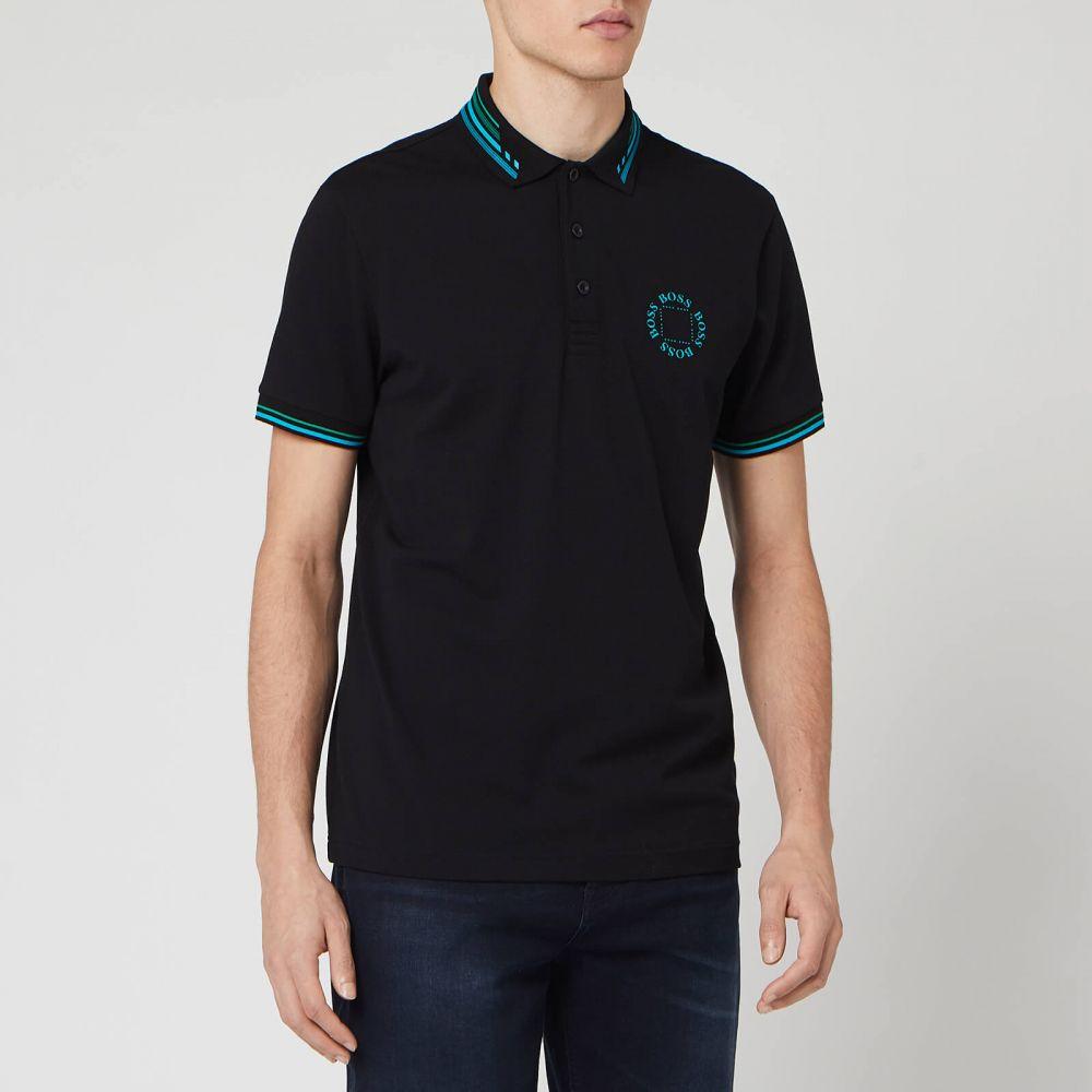 ヒューゴ ボス BOSS メンズ ポロシャツ トップス【Paddy 1 Polo Shirt - Black】Black