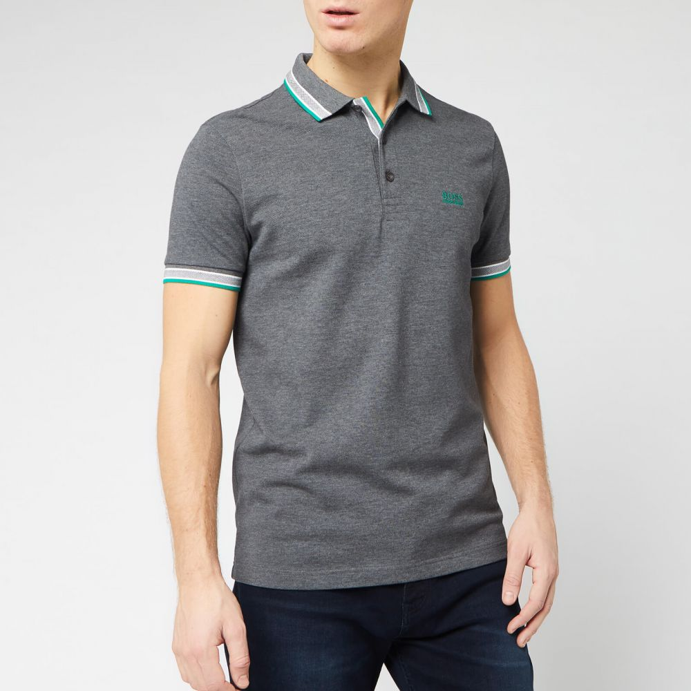 ヒューゴ ボス BOSS メンズ ポロシャツ トップス【Paddy Polo Shirt - Charcoal】Grey