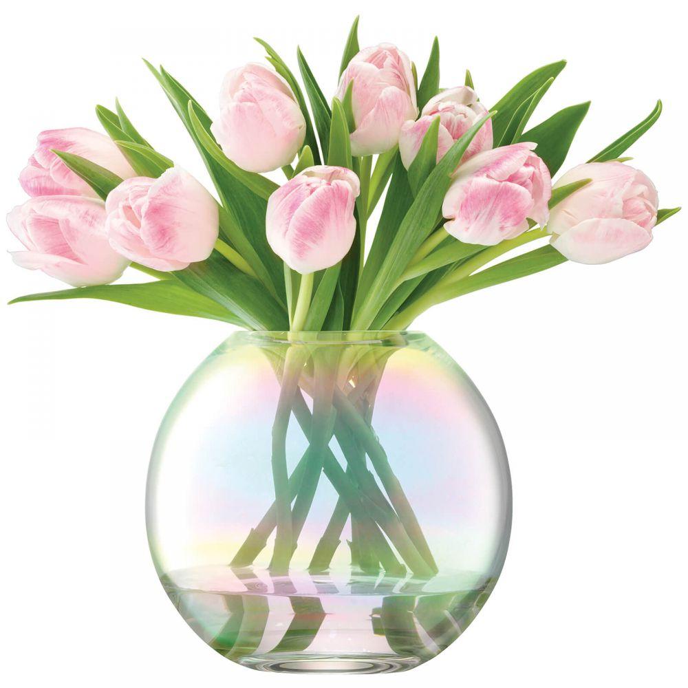 エルエスエー インターナショナル LSA International ユニセックス 雑貨 【LSA Pearl Vase - 16cm】Pink