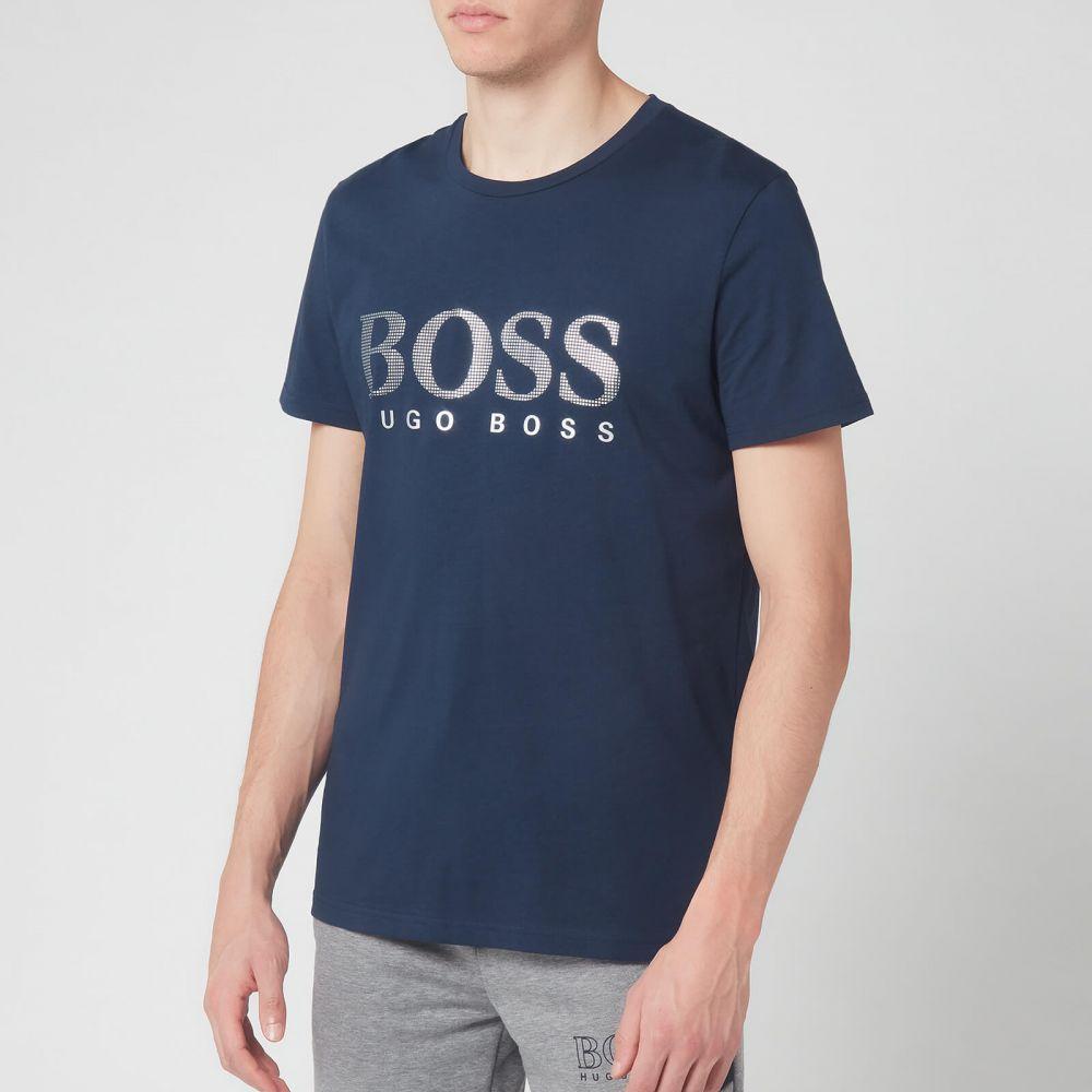 ヒューゴ ボス BOSS Hugo Boss メンズ Tシャツ トップス【Round Neck Special T-Shirt - Navy】Navy