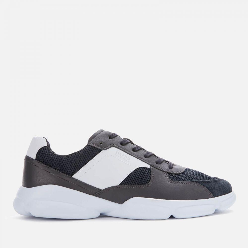 ヒューゴ ボス BOSS メンズ ランニング・ウォーキング シューズ・靴【Newlight Runn Mesh Running Style Trainers - Grey】Grey
