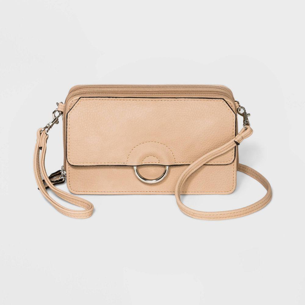 ブエノ Bueno of California レディース ショルダーバッグ バッグ【Bueno Soft Wall on a String Crossbody Bag】Off white