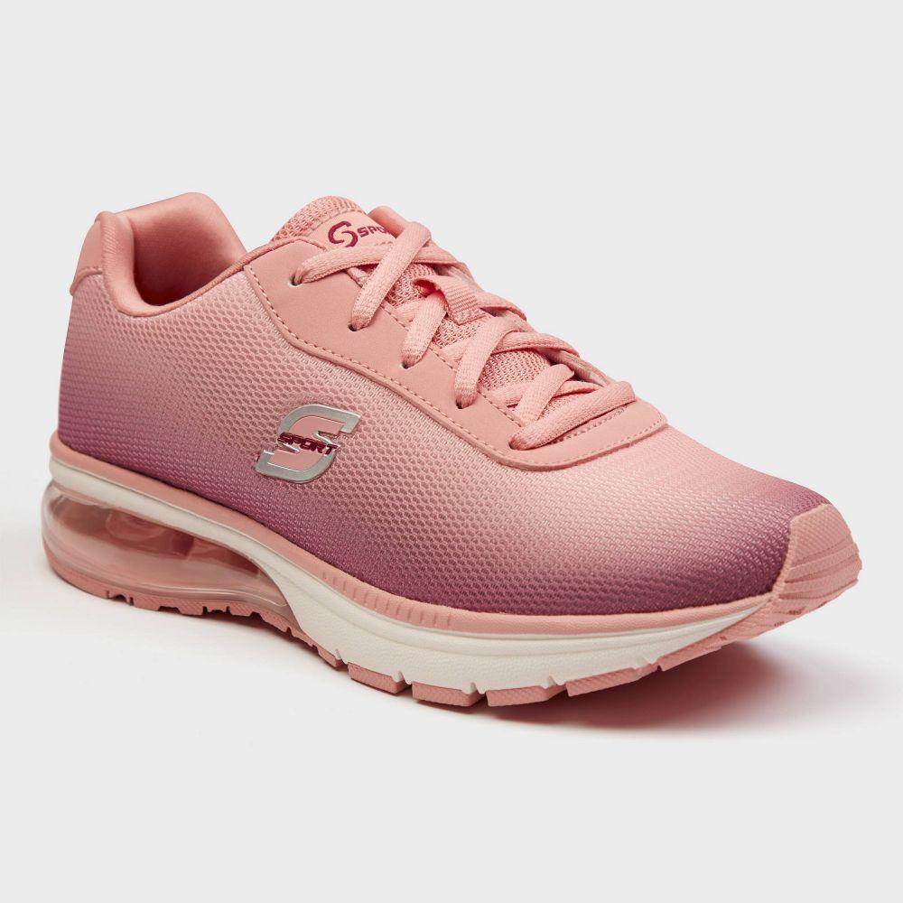 スケッチャーズ S SPORT BY SKECHERS レディース スニーカー シューズ・靴【S Sport By Skechers Vevina Performance Athletic shoes】Pink
