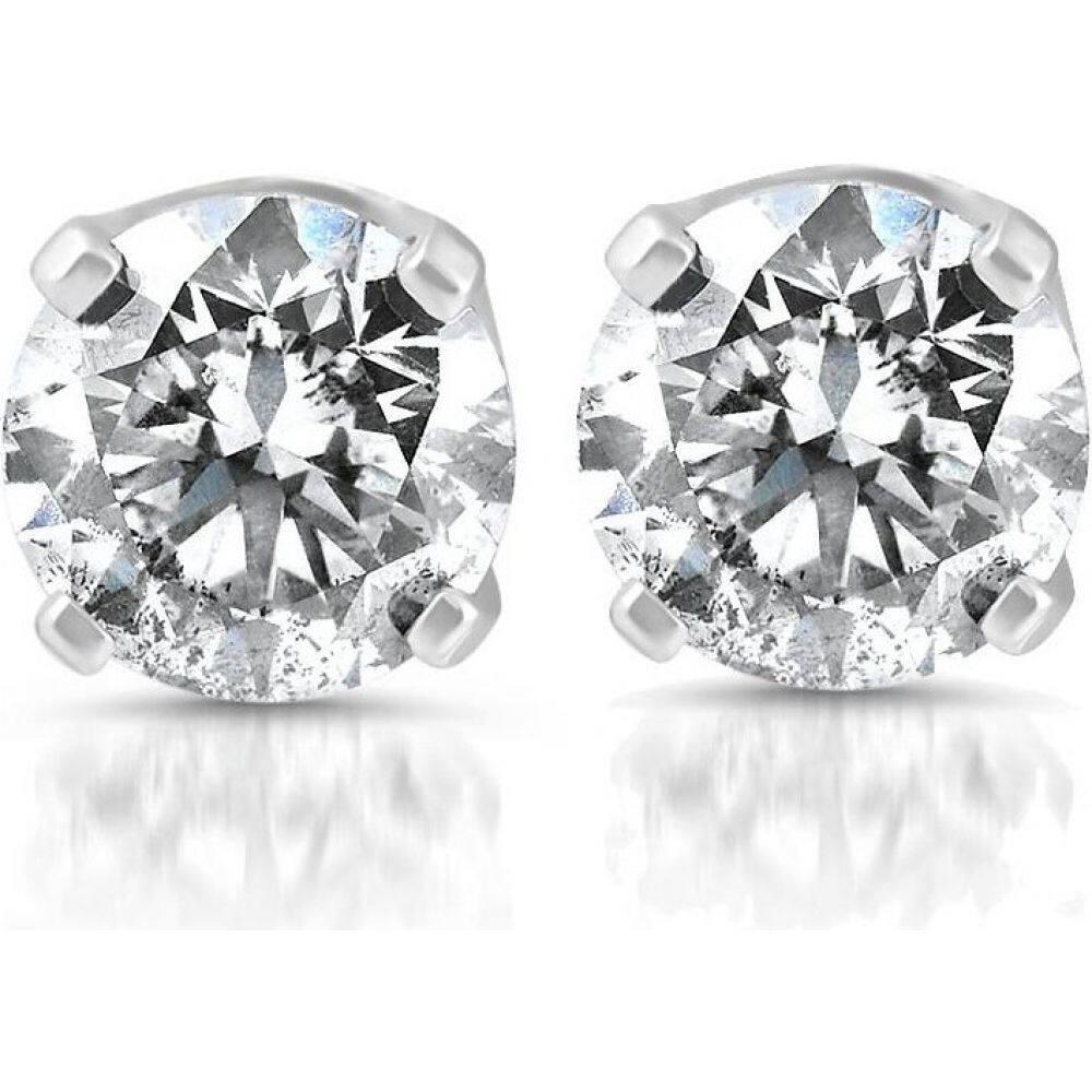 ポンペイ Pompeii3 レディース イヤリング・ピアス ジュエリー・アクセサリー【1/4ct Diamond Stud Earrings 14K White Gold】