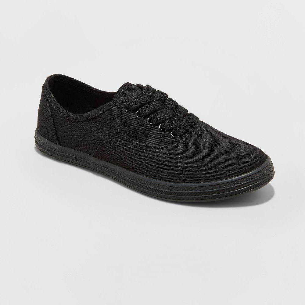 ユニバーサルスレッド レディース 期間限定で特別価格 シューズ 靴 スニーカー Black 人気 サイズ交換無料 Universal Vulcanized Thread Canvas - Lunea-Wo's Sneakers