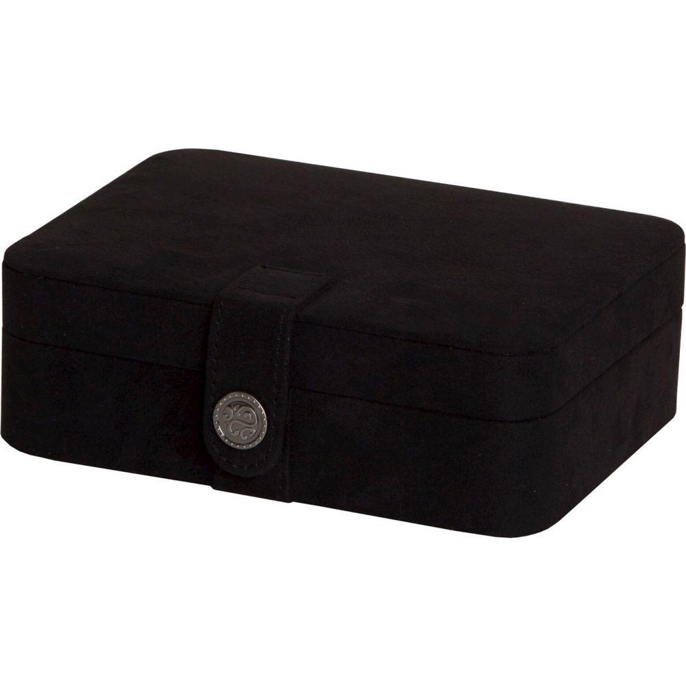 メイル&コー Mele & Co. レディース 雑貨 ジュエリーケース【Giana Plush Fabric Jewelry Box with Lift Out Tray-Black】