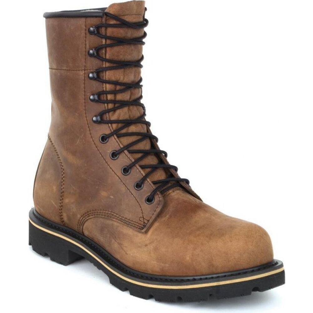 リーハイアウトフィッターズ メンズ 低価格 シューズ 靴 ブーツ brown サイズ交換無料 日本正規代理店品 Lehigh Outfitters Steel Work ワークブーツ Boot Shoes Safety Toe Brown