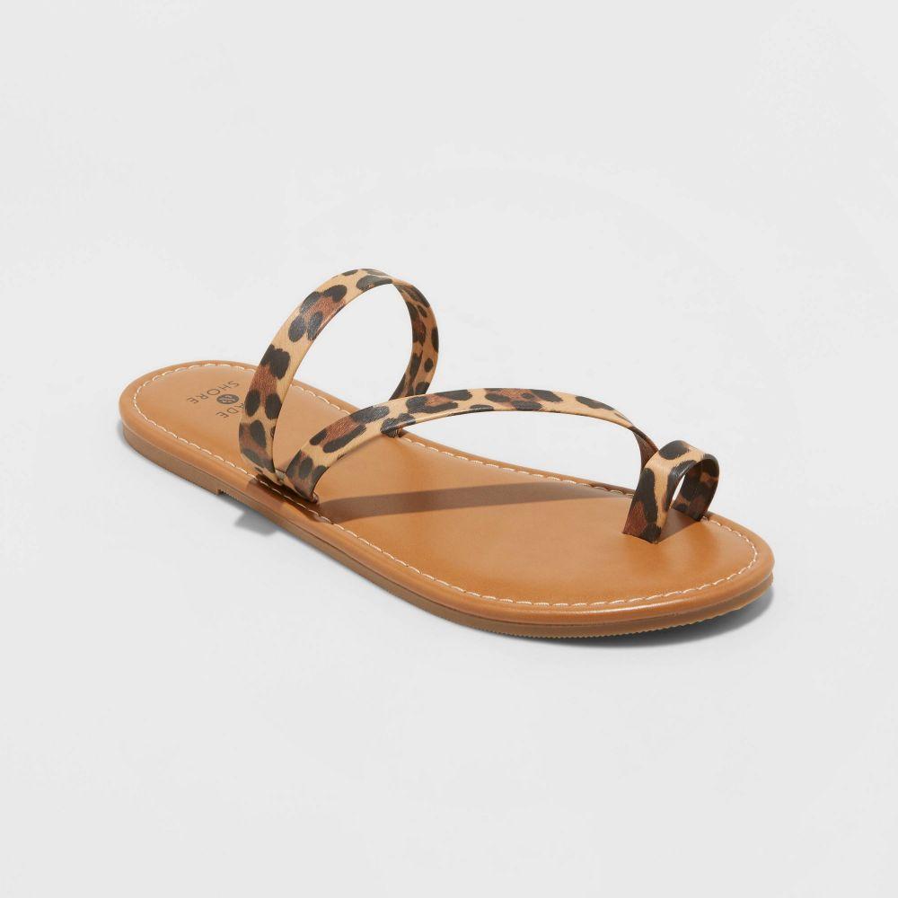 シェードショア レディース シューズ 靴 ビーチサンダル Brown サイズ交換無料 Shade Toe - Asymmetrical 春の新作シューズ満載 お気に入り and Shore Andora Ring Sandals