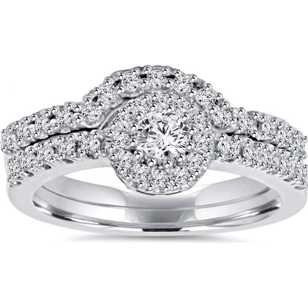 【18%OFF】 ポンペイ Ring Pompeii3 レディース 指輪・リング 指輪・リング Gold】 ジュエリー・アクセサリー【1ct Diamond Engagement Matching Wedding Ring Set 14K White Gold】, オガワマチ:e209d35f --- inglin-transporte.ch