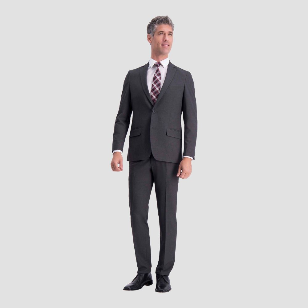 ハガーH26 Haggar H26 メンズ スーツ・ジャケット アウター【Slim Fit Premium Stretch Suit Jacket - Charcoal Heather】