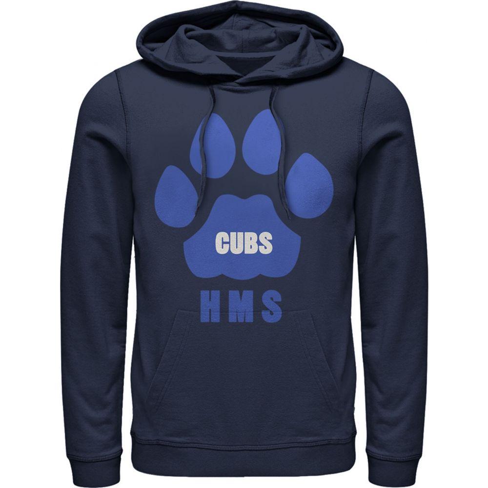 フィフス サン Fifth Sun メンズ パーカー トップス【Stranger Things Hawkins Middle School Cubs Logo Hoodie】navy blue