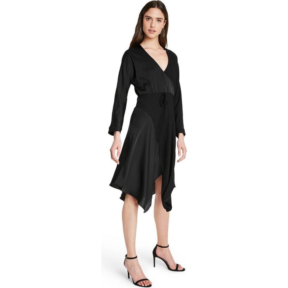 ターゲット CUSHNIE for Target レディース ワンピース ラップドレス ワンピース・ドレス【Wrap Dress - (Regular & Plus) Black】