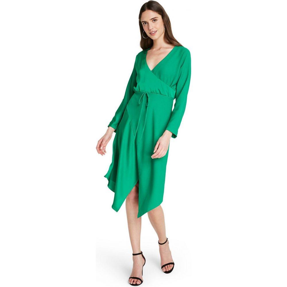 ターゲット CUSHNIE for Target レディース ワンピース ラップドレス ワンピース・ドレス【Wrap Dress - (Regular & Plus) Emerald Green】