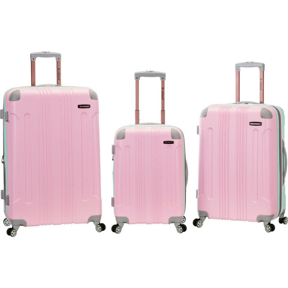 ロックランド Rockland メンズ スーツケース・キャリーバッグ バッグ【Sonic 3pc ABS Luggage Set】Mint