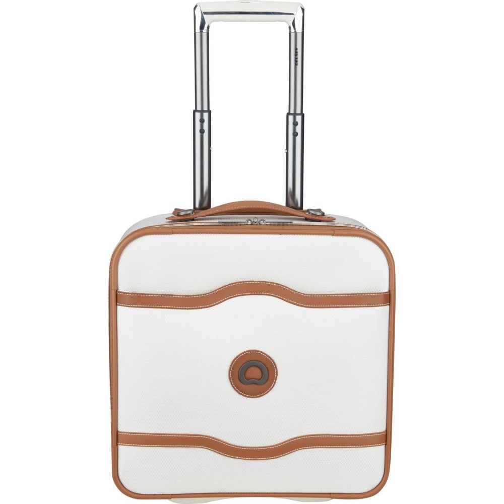 デルシー DELSEY レディース スーツケース・キャリーバッグ バッグ【Paris Chatelet Soft Air 2-Wheel Under-Seater Carry On Suitcase】Champagne