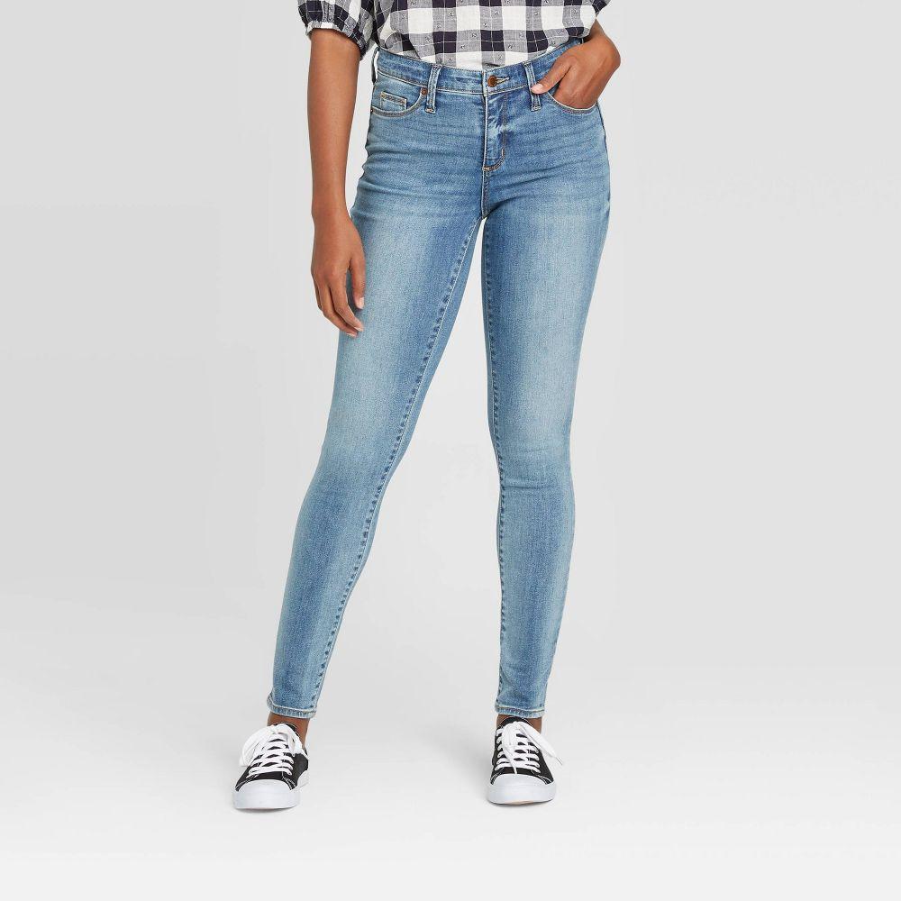 ユニバーサルスレッド Universal Thread レディース ジーンズ・デニム ボトムス・パンツ【High-Rise Skinny Jeans - Vintage Medium Wash】