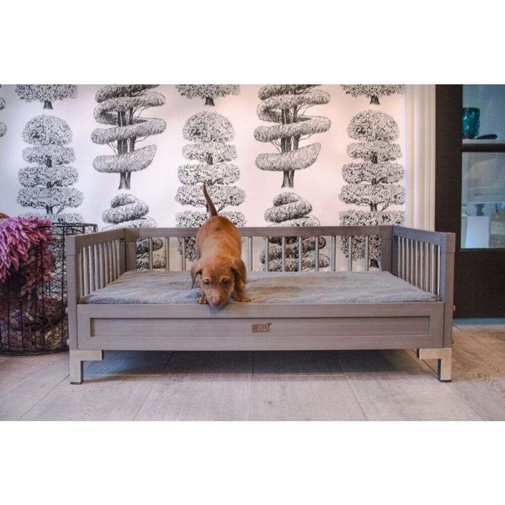 売店 ニューエイジペット New Age Pet ペットグッズ 犬用品 ベッド カバー Manhattan 正規品 Gray Bed ecoFlex マット Dog