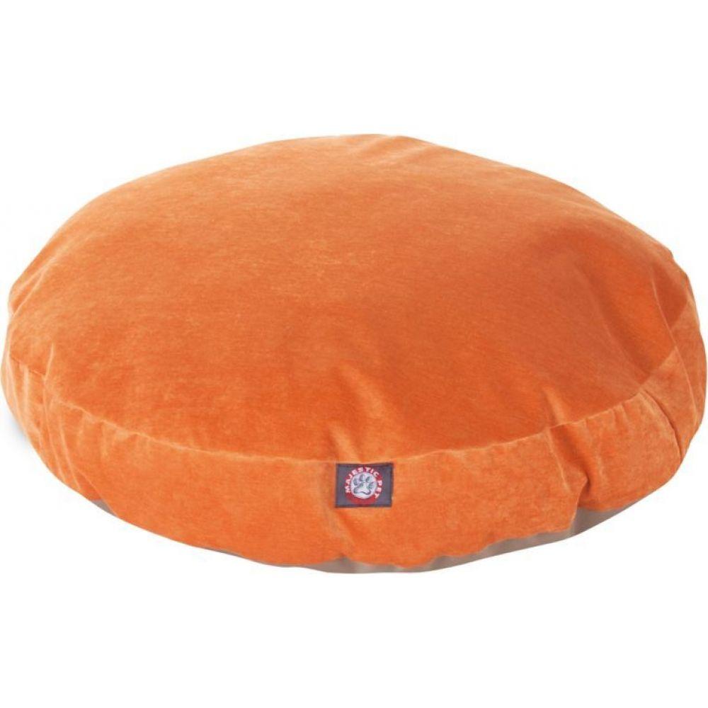 マジェスティック Majestic ペットグッズ 犬用品 ベッド マット 至上 カバー Round Orange Villa Bed 新着 Pet