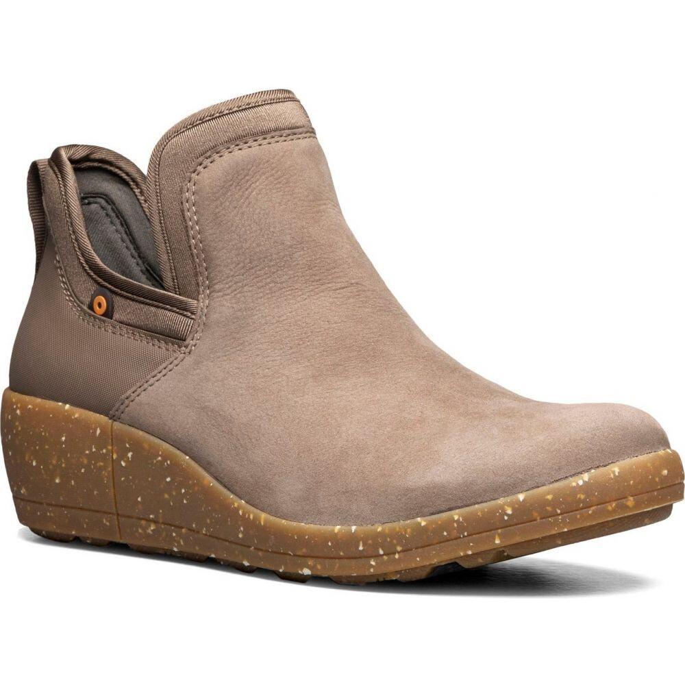 ボグス レディース シューズ・靴 レインシューズ・長靴 Taupe 【サイズ交換無料】 ボグス BOGS レディース レインシューズ・長靴 ウェッジソール シューズ・靴【Vista Waterproof Wedge Rain Boot】Taupe